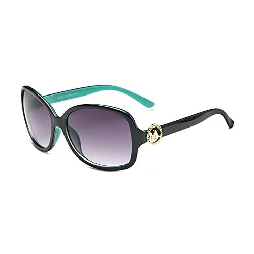 Diseño De Marca, Gafas De Sol para Mujer, Gafas De Lujo para Mujer, Gafas De Sol Cuadradas, Moda para Mujer, Conducción, Hombre, Viaje, Lente Azul