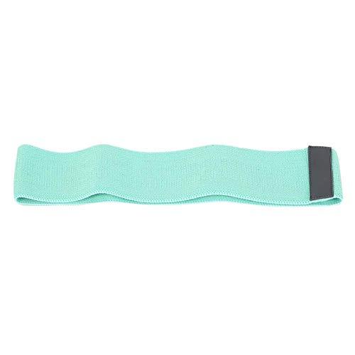 Shipenophy Material Seguro Bucle de Resistencia Resistente Cinturón de Bucle de Yoga Ligero para Fitness(Green)