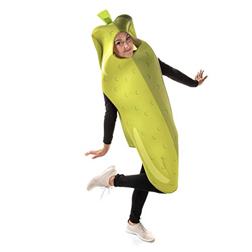 Caught in a Pickle Halloween Costume – Funny Snack Food Outfits for Adults
