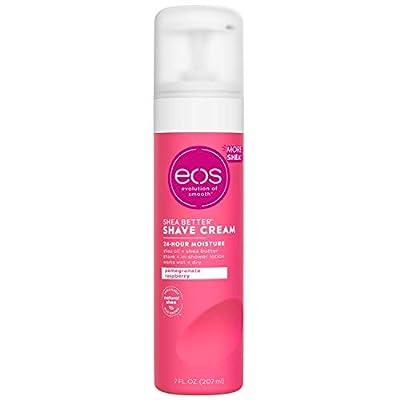 eos Ultra Moisturizing Shave Cream - Pomegranate Raspberry   24 Hour Moisture   7 fl oz.