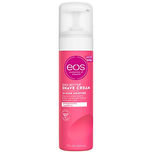 Eos Evolution of Smooth - Shave Cream Ultra Moisturizing Pomegranate Raspberry (Unisex) - 7 oz.