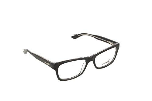 Arnette An7038 Monturas de Gafas, Top Black On Crystal, 51 para Hombre