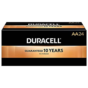 Duracell 2768001 Coppertop AA Alkaline Batteries 24/Pack  MN1500BKD