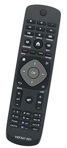 ALLIMITY 996590009359 Fernbedienung Ersatz für Phlips FHD LED TV 22PFK4000 40PFT4101 48PFK4100 50PFH4009/88 55PUT4900/60 32PHH4319/88 40PFK4309/12 47PFK4109/12 50PFH4109/88