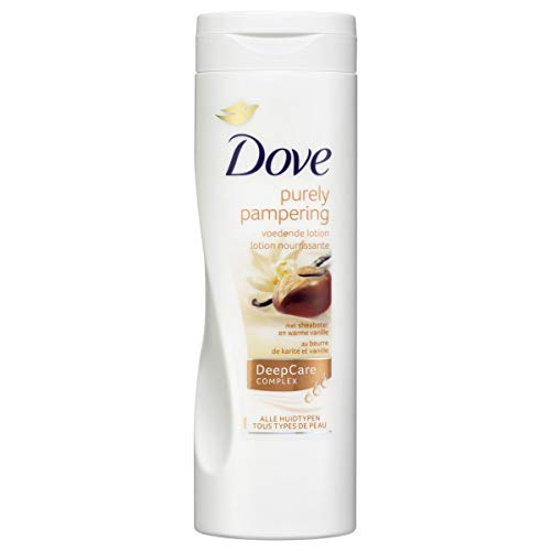 Dove Purely Pampering Indulgent Body Lotion for Unisex, 13.6 Ounce