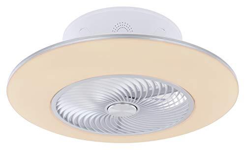 Ventilador de techo Kello 58 cm con LED y mando a distancia