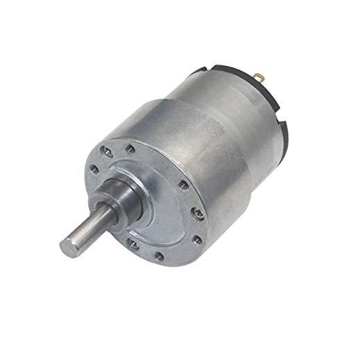 caihv-Motor de Corriente Continua Duradero, Motor eléctrico 12V 24V DC Motor de Engranaje, JGB37-520 6V Motor Micro, Accesorios (Speed(RPM) : 66rpm, Voltage(V) : 12V)