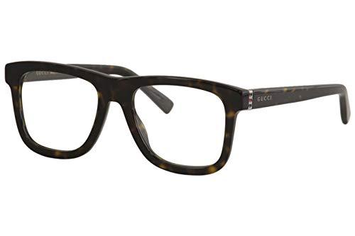 Gucci Brille für Vista GG0453O 006 havana rahmenmaterial: kunststoff größe 53 mm brille mann