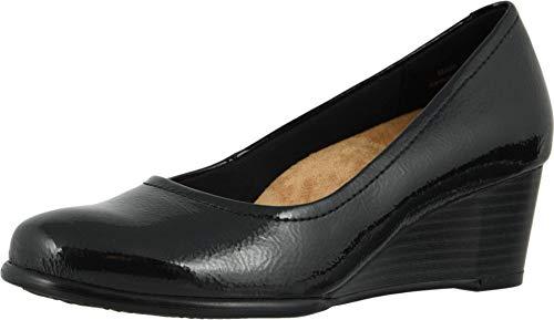 Trotters Winnie Women's Slip On 5.5 B(M) US Black-Black