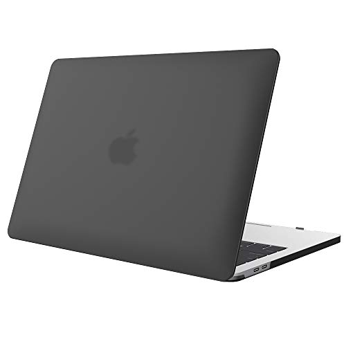ProCase MacBook Pro 16 Zoll 2019 Abdeckung, Ultraflaches, durchscheinendes,Gummibeschichtetes Hardcover Gehäuse für MacBook Pro 16-Zoll-Modell A2141 - Schwarz