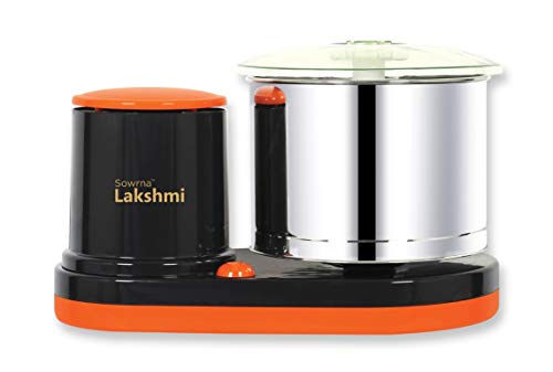 DGMR sowrna Lakshmi Wet Grinder (Orange, Grey)