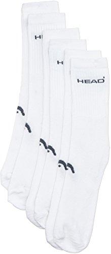 HEAD Instinct Chaussettes pour Homme Blanc Taille 39-42