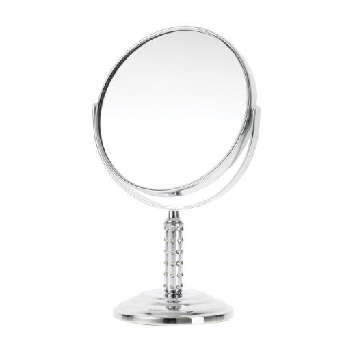 Danielle Miroir sur pied grossissant x 5 double face 16 cm