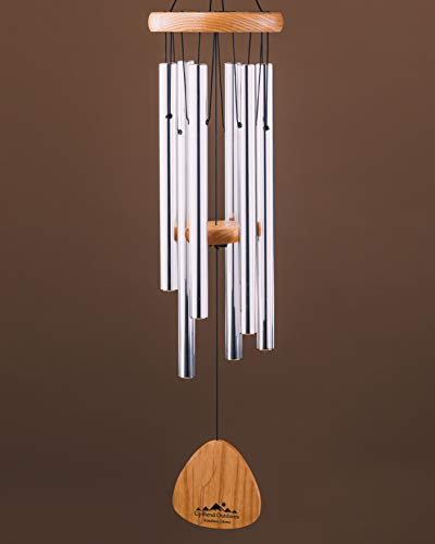 UpBlend Outdoors Wind Chimes for People who Like Their Neighbors 2  an Amazing Addition to a Patio Porch Garden or Backyard  29quot Total Length