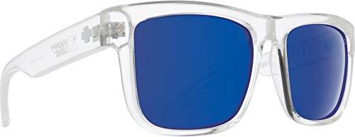 Spy Optic Discord Polarized Flat Sunglasses (Clear/Dark Blue Spectra)