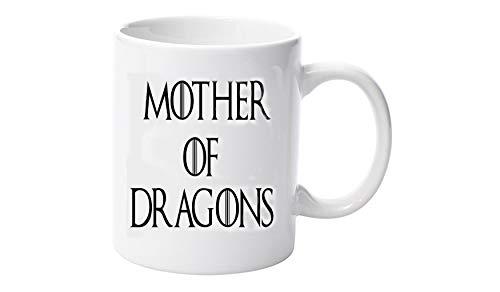Taza divertida con diseño de Madre de Dragons Daenerys Targaryen Stormborn