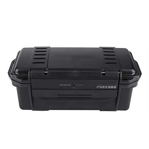 Zer one Caja de Almacenamiento Duradera ABS Impermeable Caja de Almacenamiento Durable Caja de Equipo de Seguridad Caja de Transporte para Actividad al Aire Libre(200×98×82mm)