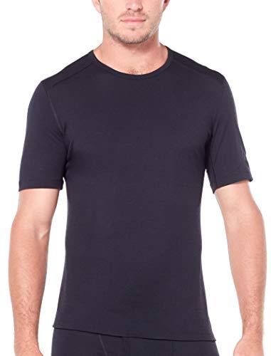 Icebreaker Herren 200 Oasis SS Crewe T-Shirt, Black, S - 2