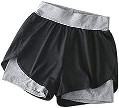 ReeeR MarinaVida Women Elastic Casual Sports Shorts Summer Quick Dry Running Gym Yoga Hot Pants MarinaVida Women Elastic Casual Sports Shorts Summer Quick Dry Running Gym Yoga Hot Pants
