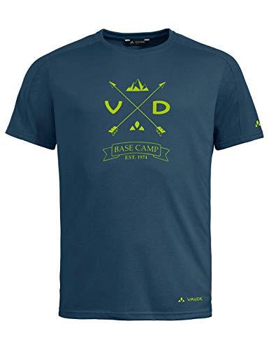 Vaude Herren T-shirt Men's Gleann T-Shirt, baltic sea, L, 41807