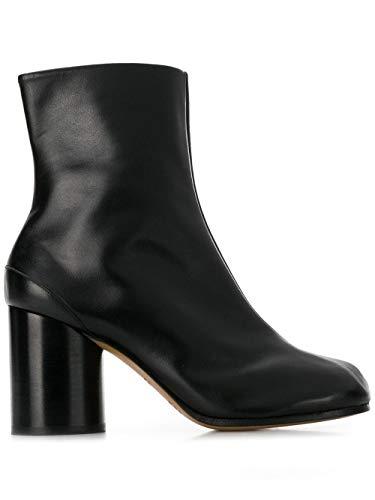Maison Margiela Luxury Fashion Damen S58WU0260PR516T8013 Schwarz Leder Stiefeletten   Jahreszeit Permanent