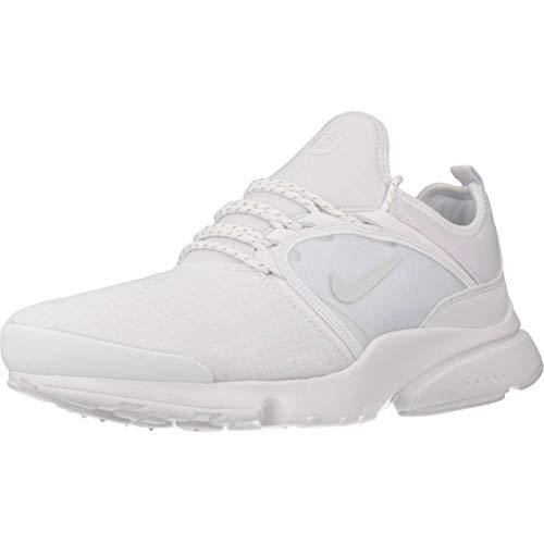 Nike Herren Presto Fly World SU19 Leichtathletikschuhe, Weiß (White/Pure Platinum 000), 45 EU