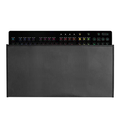 kwmobile Custodia Copritastiera Compatibile con Logitech G213 Prodigy Gaming - Protezione Antipolvere Tastiera PC - Cover Protettiva Grigio Scuro