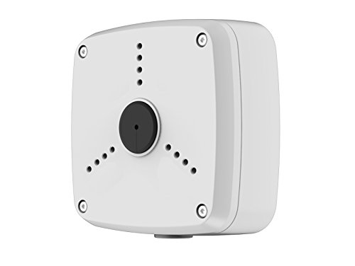 Lupus-Electronics 13352 Montagebox für die LE138/139 und LE201, LE221 und LE224 Überwachungskamera, Silber