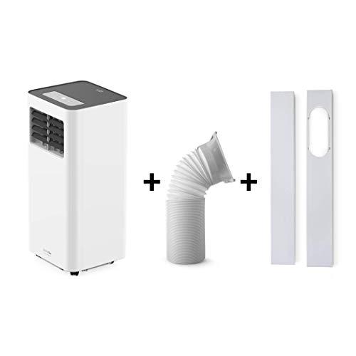 UNIVERSALBLUE Aire Acondicionado portátil | Pingüino 1750 Frigorías | Silencioso |Bajo Consumo | Mando a Distancia