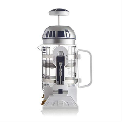 Koffiepot 960ml Home Mini Star Handmatige Koffiemachine Frans Geperste Koffiepot Draagbaar Koffiezet Turks Koffie