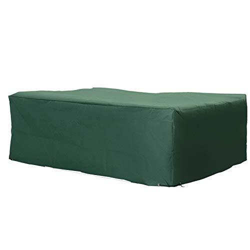 Outsunny UV Rain Protective Rattan Furniture Cover for Wicker Rattan Garden 205 x 145 x 70cm