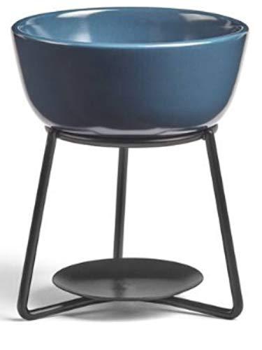 YANKEE CANDLE Accessory Duftlampe, Keramik, dunkelblau, 12cm