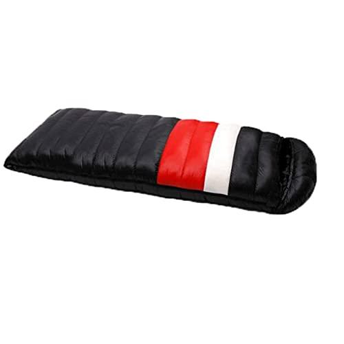 Inicio Equipamiento Saco de dormir para adultos Sacos de dormir ligeros para exteriores Adultos 4 estaciones Universal Thicken Warm Camping Senderismo Viaje Saco de dormir rectangular Saco de dormi