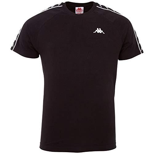 Kappa Authentic Finley - Camiseta para Hombre, Hombre, Camiseta, 306013, Caviar, Medium