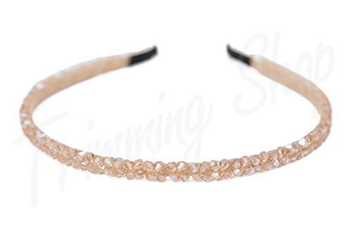 Hoofdbanden Haarbanden voor Vrouwen Baby Meisjes Tiara Alice Champagne Goud Strass Steentjes Crystal door Trimming Shop®