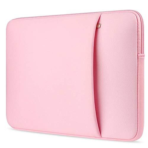 Toshiba Tecra Laptoptasche - Laptop Hülle - Schutzhülle für Laptops - 14 Zoll - mit Seitliche Tasche - Rosa