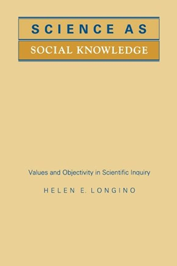 エラー逃げる聖職者Science As Social Knowledge: Values and Objectivity in Scientific Inquiry