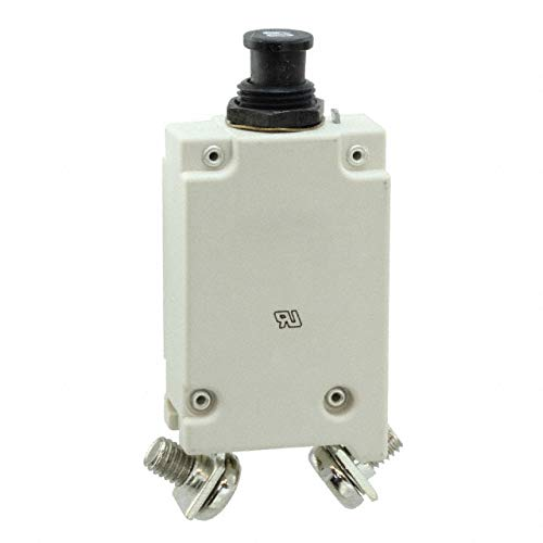 E-T-A Circuit Protection and Control 413-K14-LN2-60A, Circuit Breaker; Therm; Push/Pull; Cur-Rtg60A; Panel; 1 Pole; Vol-Rtg 28VDC