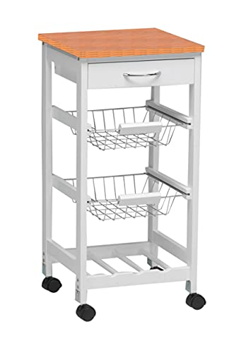 Kit Closet 7040028002 - Carro de cocina con cestas + botelle
