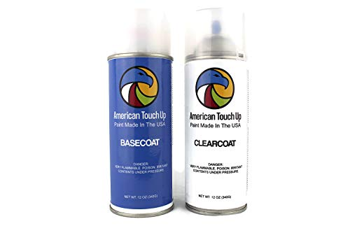 American Touch Up | Automotive Touch Up Paint for Chevy | 28/502Q/GCR/WA502Q Inferno Orange Metallic | OEM Spray Paint (Basecoat/Clearcoat)