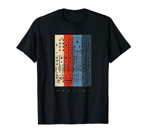 Vintage DIY Modular Synthesizer - Analog Synth Nerd T-Shirt