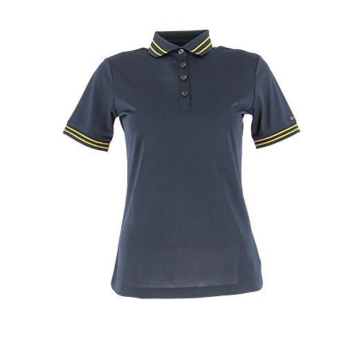 Bogner Sport Ladies Nell Schwarz, Damen Polo Shirt, Größe 42 - Farbe Black
