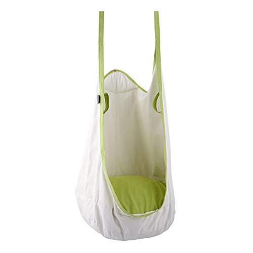 JTYX schommelstoel voor kinderen volwassen pod hangstoel hangstoel hangstoel binnen buiten met voorjaarshaak