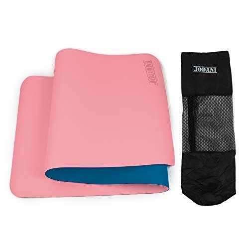 JODANI Yoga Mat, TPE Eco Friendly Non Slip Fitness Exercise Mat for men & women with...