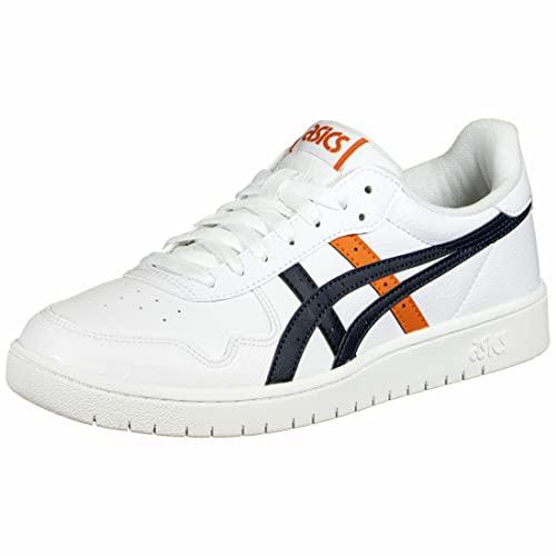 Asics Japan S, Sneaker Hombre, White/Marigold Orange, 44 EU