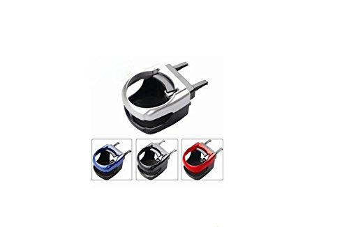 GyAfam Car multifunctionele beugel, airconditioning doos, hoeveel ABS plastic 10 * 8 * 6cm, kan hangen uit de voorruit rek + beker houder, Zwart
