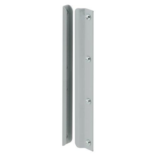 Defender Security U 9513 Latch Shield, 12 in., Steel, Gray, In-Swinging Doors