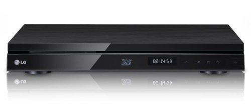 LG HR929C 3D Blu-ray-Player mit Festplatte 1TB (1080p Upscaling, 2X DVB-T/C, CI+, WLAN, Smart TV, HbbTV) schwarz
