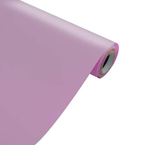SOMOLUX HTV - Rollo de vinilo para transferencia de calor, 30,5 x 12 pies, fácil de cortar y maleza, diseño de bricolaje para camisetas, color morado