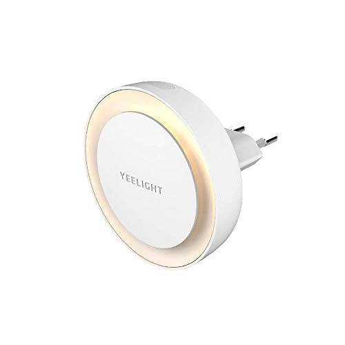 Yeelight LED-Induktionsstecker im Nachtlicht mit lichtempfindlichem Sensor für Schlafzimmer-Flur-Baby-Raum (EU-Stecker)